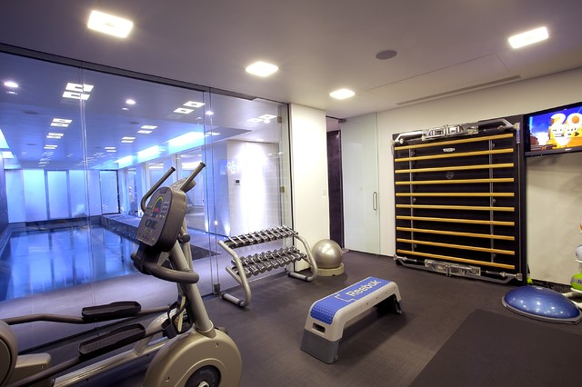 modern home gym design ideas - Home Gym Design Ideas