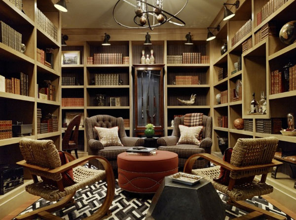Home Library Design Ideas 2016