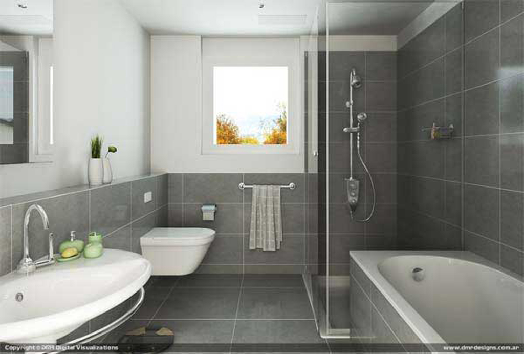 Modern Contemporary Bathroom Design House I M