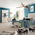 Boy Room Showing Plan and Cars that Make the Room More Nice to See