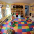 Children Plays and Used Wooden Storage