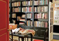 Home Library Bookcases Black