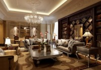 Living Room Glamorous Sofa with Sleek Coffee Table Artistic Carpet on Marble Floor