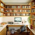 Small Home Office Library