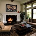Small Living Room with Fireplace Decor