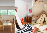 View in the Natiave American in Taupe of Children Playroom Used White and Black Carpet