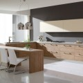 Interior Kitchen Design for Comfy Cooking Zone with Pantry Area